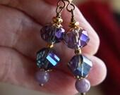 Lovely Vintage Glass Bead Earrings