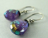 BIGGEST SALE EVER Rainbow Mystic Amethyst Sterling Silver Earrings