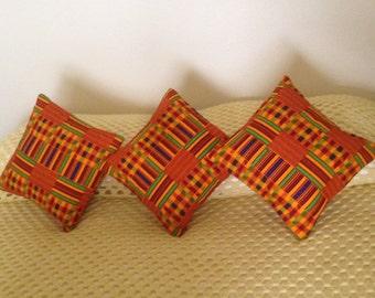 Kente Cloth Pillows