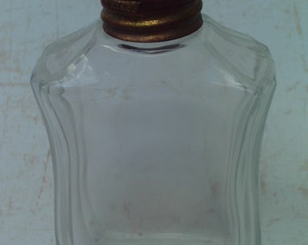Vintage AVON Powder Talc Shaker Glass