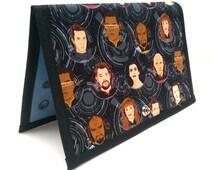 Knitting Crochet Pattern Holder - miPattern Wallet Chart Keeper - Star Trek - Engage