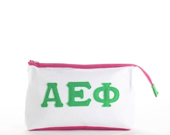 Alpha Epsilon Phi Makeup Case