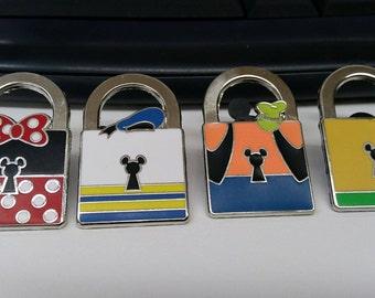 Disney Pin Lot Charcters in Locks?