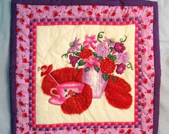 RED HAT SOCIETY Wall Hanging