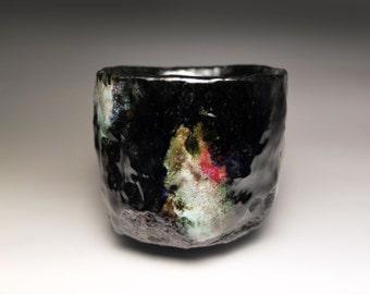 Chawan / Raku tea bowl / bol à thé raku / 80 x 90 mm