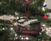 Holiday SEATTLE Pikes Market Photo Ornament -  Home Decoration