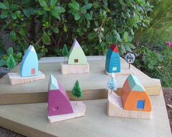 "Wee little Norse elf homes - ""middling"" - Limited Edition"