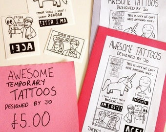 Awesome Temporary Tattoos Deisgned By Jo