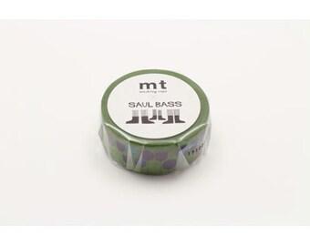mt x art series - saul bass -flowers - 20mm x 10m x 1 roll