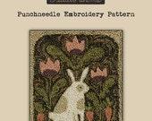 Punchneedle | Teresa Kogut | Pattern | Needlwork | DIY | Crafts | Carrots & Tulips | PN145