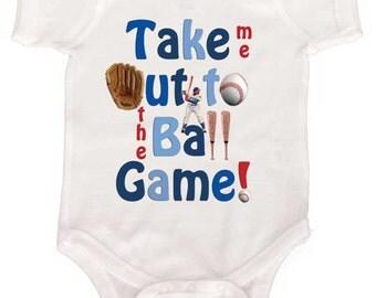 Boy Baseball Bodysuit Baby Boy One Piece infant Bodysuit Newborn Romper to Kids Tees