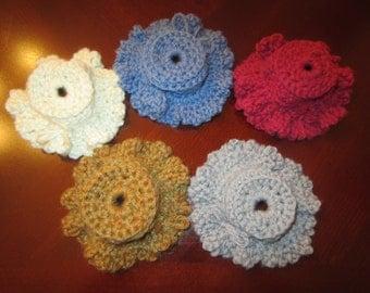 Crochet Hot Pot Lid Handle Holders