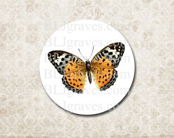 Butterfly Stickers Envelope Seals Wedding Party Favor Treat Bag Sticker SP079