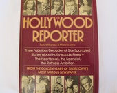 Hollywood Reporter Gossip Magazine Vintage Book Wilkerson Borie Movie Stars Show Business History 1930s 1940s 1950s Film Actors Scandal
