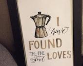 Véritable amour imprimer