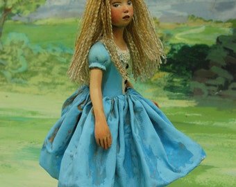 Alice in Wonderland doll
