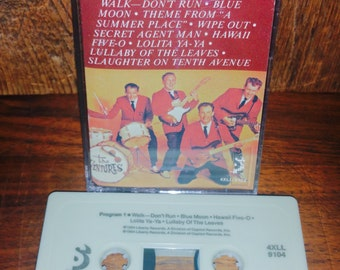 The Ventures Play The Hits Vintage Cassette Tape