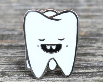 Tooth Lapel Pin