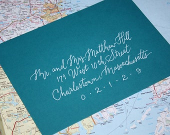 Modern Calligraphy, Envelope Addressing, Discount Gel Pen, Wedding Calligraphy