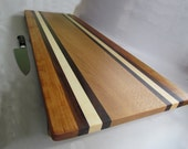 HUGE Extra LONG & LARGE Raised Cutting/Serving Board