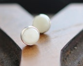 White Coral Earrings- Free Shipping