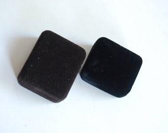 Retro Velvet Ring Boxes