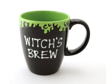 Witch's Brew Mug - large oversized mug - funny mug