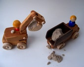 Dump Truck AND Digger Set