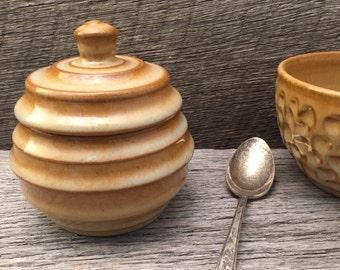 Covered jar/Salt jar