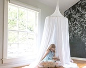Play Canopy - White - Hanging Play Tent