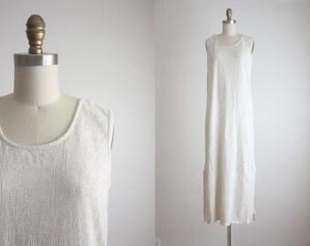 natural flaxen maxi dress