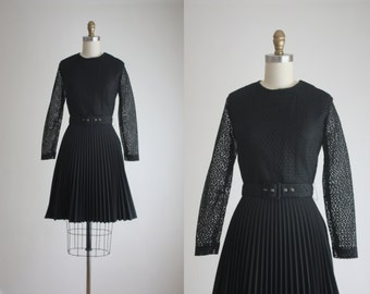 1960s pleat dress