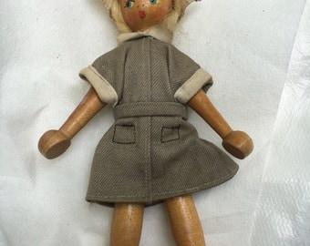 Made in Poland wodden doll