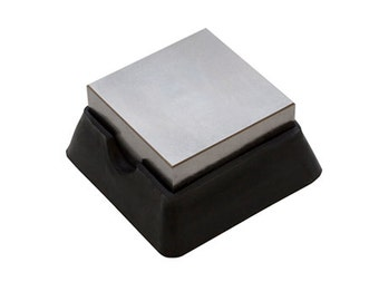 Rubber and Steel Bench Block   SALE SALE