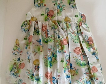 Vintage Holly Hobby Pinafore Dress Set Toddlers