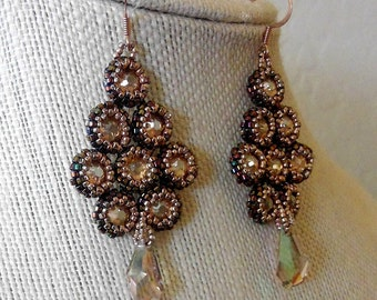 Cascading Jewel Earrings