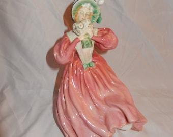"Royal Doulton Porcelain Figurine ""Marguerite""-Made in England 1928"