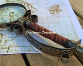 Steampunk Magnigying Glass