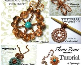 PENDANTS TUTORIAL bundle sale