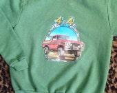 Vintage 1980s Bronco 4 x 4 sweatshirt