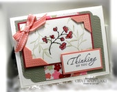 Stampin' Up Thinking of You Card