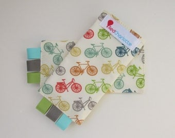 ORGANIC Sucking Pads - Just For Fun Multi Bikes -these fit Ergo, Tula, Mei Tai, Beco, Boba, BabyHawk and more