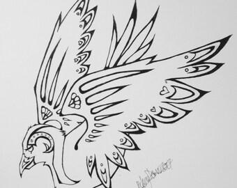 bird [print]