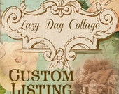 Custom Listing for Anna