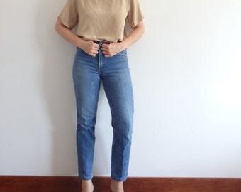 Womens Blouse Vintage Silk