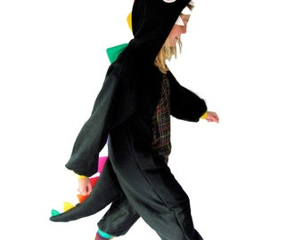 Rainbow Dinosaur Onesie - LIMITED EDITION - Full length animal costume by BangBangCrash