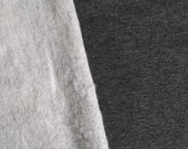 Bamboo Stretchy Fleece, Heathered Charcoal