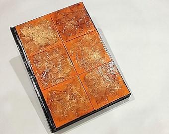 blank journal book
