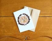 Card/Carte Cat in love