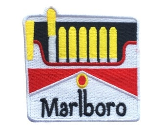 Marlboro cigarette out of pocket patch by Jess warby